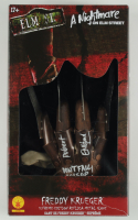 "Robert Englund Signed ""A Nightmare on Elm Street"" Freddy Krueger Supreme Edition Metal Replica Glove Inscribed ""Don't Fall Asleep!"" & ""'Freddy Krueger"" (Beckett Hologram) (See Description) at PristineAuction.com"