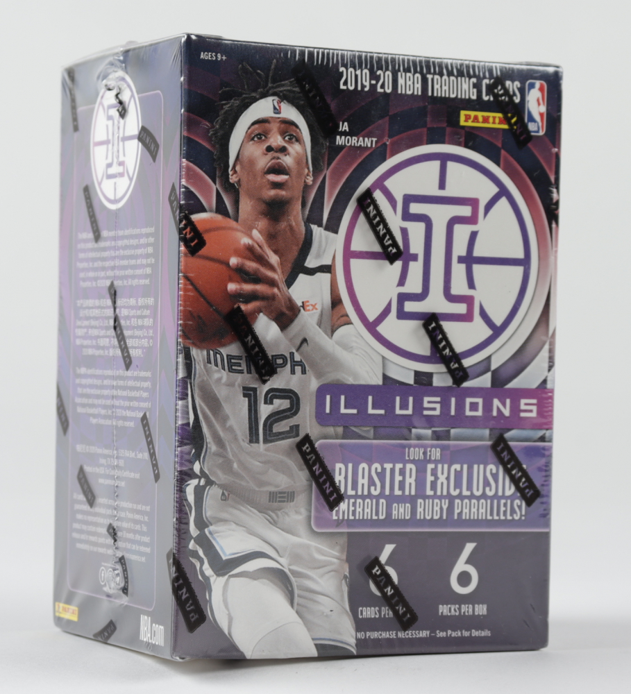 2019/20 Panini Illusions Basketball 6-Pack Blaster Box of (36) Cards at PristineAuction.com
