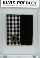 ELVIS PRESLEY PERSONALLY WORN/OWNED SHIRT MYSTERY SWATCH BOX! at PristineAuction.com