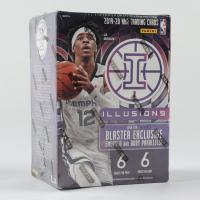 2019/20 Panini Illusions Basketball Blaster Box of (6) Packs at PristineAuction.com