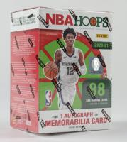 2020-21 Panini NBA Hoops Holiday Basketball Blaster Box with (11) Packs at PristineAuction.com