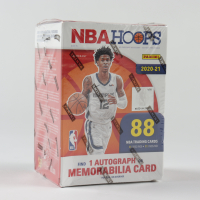 2020-21 Panini NBA Hoops Basketball Blaster Box with (11) Packs at PristineAuction.com