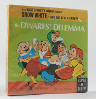 "Vintage 8mm Walt Disney Snow White and the Seven Dwarfs ""The Dwarf's Dilemma"" Movie Film Reel at PristineAuction.com"