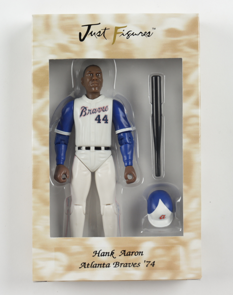 "Hank Aaron Just Figures 1974 Atlanta Braves 7"" Figurine at PristineAuction.com"