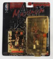 Michael Jordan Bulls LE 1999 Air Maximum Action Figurine with Special Edition Matel Upper Deck Card at PristineAuction.com