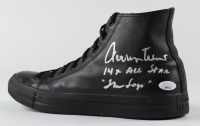 "Jerry West Signed Converse All-Star Basketball Shoe Inscribed ""14x All Star"" & ""The Logo"" (JSA COA) at PristineAuction.com"