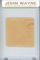 JOHN WAYNE SCREEN-WORN VEST MYSTERY SWATCH BOX! at PristineAuction.com
