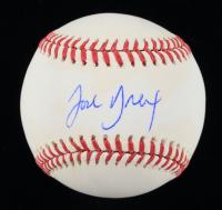 Josh Breaux Signed OML Baseball (JSA COA) (See Description) at PristineAuction.com