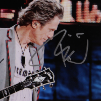 Journey 16x20 Photo Signed By Deen Castronovo, Neal Schon, Ross Valory, Jonathan Cain & Arnel Pineda (Beckett LOA & PSA LOA) (See Description) at PristineAuction.com
