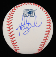 Fernando Tatis Jr. Signed Padres 50th Anniversary Logo OML Baseball (Beckett COA) at PristineAuction.com
