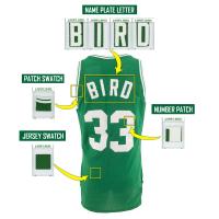 LARRY BIRD 1989-90 CELTICS GAME-WORN UNIFORM MYSTERY SWATCH BOX! at PristineAuction.com