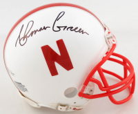Ahman Green Signed Nebraska Cornhuskers Mini Helmet (Beckett COA) at PristineAuction.com
