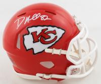 Dante Hall Signed Chiefs Speed Mini Helmet (Beckett COA) at PristineAuction.com
