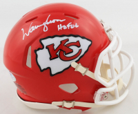 "Warren Moon Signed Chiefs Speed Mini Helmet Inscribed ""HOF 06"" (PSA COA) at PristineAuction.com"