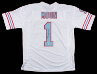 "Warren Moon Signed Jersey Inscribed ""HOF 06"" (PSA COA) at PristineAuction.com"