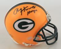 Paul Hornung Signed Packers Mini Helmet (Fanatics Hologram) (See Description) at PristineAuction.com