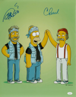 "Tommy Chong & Cheech Marin Signed ""The Simpsons"" 16x20 Photo (JSA COA) (See Description) at PristineAuction.com"
