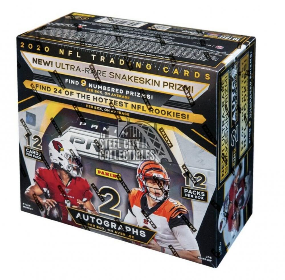 2020 Panini Prizm Football Hobby Box with (12) Packs at PristineAuction.com