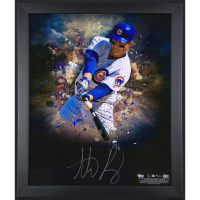 Anthony Rizzo Signed Cubs 20x24 Custom Framed Photo Display (Fanatics Hologram & MLB Hologram) at PristineAuction.com