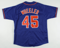 Zack Wheeler Signed Jersey (Beckett COA) at PristineAuction.com