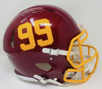 Chase Young Signed Washington Full-Size Authentic On-Field Speed Helmet (Fanatics Hologram) at PristineAuction.com
