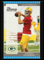 Aaron Rodgers 2005 Bowman #112 RC at PristineAuction.com
