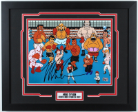 """Mike Tyson Signed """"Punch-Out!!"""" 22x18 Custom Framed Photo Display (Fiterman Sports Hologram) at PristineAuction.com"""