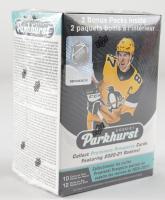 2020-21 Parkhurst Hockey Blaster Box with (12) Packs at PristineAuction.com