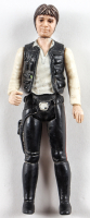 """Set of (2) Original 1977 Hasbro """"Star Wars"""" Action Figures with Han Solo & Chewbacca with Display Case at PristineAuction.com"""