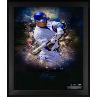 Javier Baez Signed Cubs 20x24 Custom Framed Photo Display (Fanatics Hologram & MLB Hologram) at PristineAuction.com