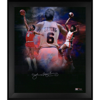 "Julius ""Dr. J"" Erving Signed 76ers 20x24 Custom Framed Photo (Fanatics Hologram) at PristineAuction.com"