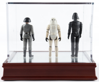 """Set of (3) Original 1977 Hasbro """"Star Wars"""" Action Figures with Darth Vader, Stormtrooper & Imperial Officer at PristineAuction.com"""