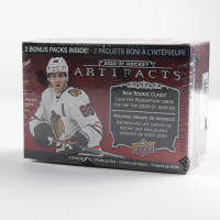 2020-21 Upper Deck Artifacts Hockey Blaster Box with (7) Packs at PristineAuction.com