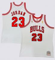 Michael Jordan Signed LE Bulls Jersey (UDA COA) at PristineAuction.com