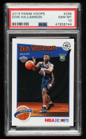 Zion Williamson 2019-20 Hoops #296 RC (PSA 10) at PristineAuction.com