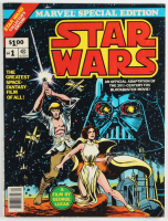 "Vintage 1977 ""Star Wars"" Vol. 1 Issue #1 Marvel Special Edition Comic Book (See Description) at PristineAuction.com"