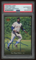 Tony Gwynn Signed 1995 Upper Deck #135 (PSA Encapsulated) at PristineAuction.com