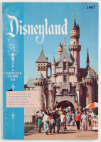 1957 Walt Disneyland Complete Souvenir Guide Book (See Description) at PristineAuction.com