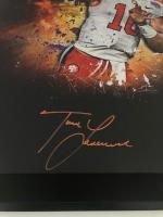Trevor Lawrence Signed Clemson Tigers 20x24 Custom Framed Photo (Fanatics Hologram) at PristineAuction.com