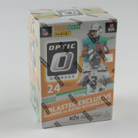 2020 Donruss Optic Football Blaster Box with (6) Packs (See Description) at PristineAuction.com