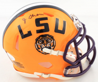 Ja'Marr Chase Signed LSU Tigers Speed Mini Helmet (JSA COA) at PristineAuction.com