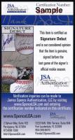 Ja'Marr Chase Signed LSU Tigers Speed Mini Helmet (JSA COA) at PristineAuction.com