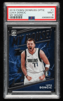 Luka Doncic 2019-20 Donruss Optic My House #1 (PSA 9) at PristineAuction.com