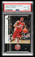 LeBron James 2004-05 Upper Deck Rivals Box Set #10 (PSA 8.5) at PristineAuction.com