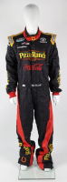 Michael McDowell Race-Used NASCAR Pizza Ranch Driver's Suit (JGR LOA & PA COA) at PristineAuction.com