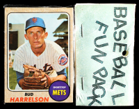 1968 Topps Baseball Card Fun Pack with (10) Cards (See Description) at PristineAuction.com