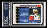 Tom Brady 2000 Paramount #138 RC (PSA 9) at PristineAuction.com