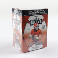 2021 Leaf Draft Football Blaster Box with (50) Cards (See Description) at PristineAuction.com