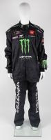 Crew Race-Used JGR Monster Energy Pit Crew Uniform (JGR LOA & PA COA) at PristineAuction.com