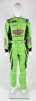 Brandon Jones Race-Used NASCAR Interstate Batteries Driver's Suit (JGR LOA & PA COA) at PristineAuction.com